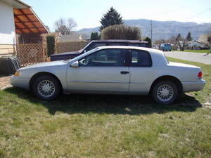 1994 cougar XR7 solid body good interior + engines, parts, tires