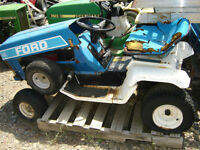 Variety of Used  PARTS Lawn Tractors