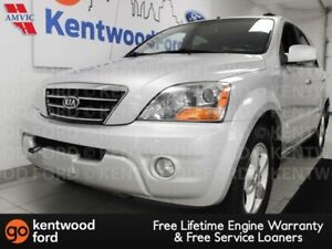 2007 Kia Sorento LX with a sunroof and heated power leather seat
