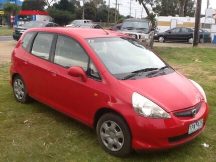 2005 Honda Jazz GD MY05 GLi Red 1 Speed Constant Variable Hatchback Hastings Mornington Peninsula Preview