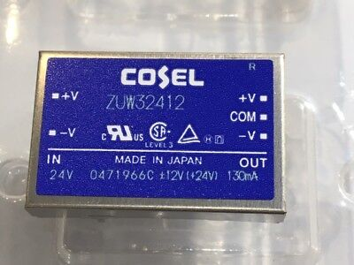 Cosel Zuw32412 Isolated Dc To Dc Converter - 24vdc Input 12vdc Output