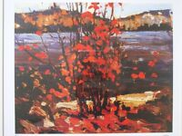 *Tom Thomson*Group of Seven*Brent Townsend*James Lumbers*