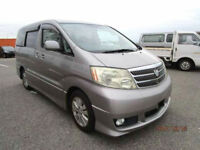 FRESH IMPORT LATE 2004/9 TOYOTA ALPHARD ESTIMA 3.0 VVT-I AUTOMATIC GREY 8 SEATS