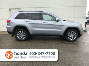 2014 Jeep Grand Cherokee Limited 4WD Heated Wheel Back Up Camera