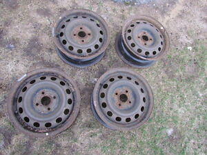 4 rim 4x100 honda civic toyota yaris echo