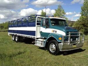STERLING LT7500 6X4 TRAY WITH STOCK CRATE LOW 227000 KMS Armidale City Preview