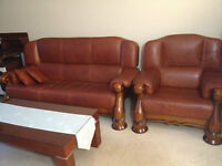 Leather couch for $1,000