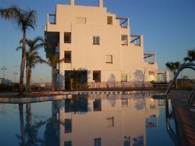 Our Casa Condado, Penthouse Apartment overlooking the 12th tee of Condado De Alhama Golf course