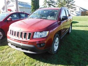 2012 Jeep Compass Sport **HAIL DAMAGE*BRANDED SALVAGE**