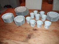 41 piece Mitterteich Bavaria China Crockery Set - Immaculate