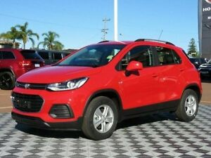 2017 Holden Trax TJ MY17 LS Absolute Red 6 Speed Automatic Wagon