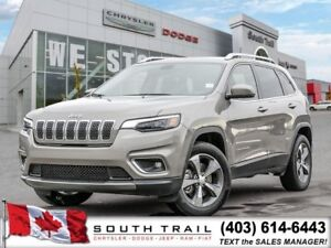 2019 Jeep Cherokee Limited Remote Start, Heated Seats $233 BW