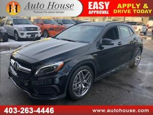 2015 MERCEDES-BENZ GLA 45 AMG NAVIGATION BACKUP CAMERA AWD