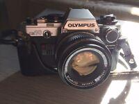 Olympus OM10 35mm film camera