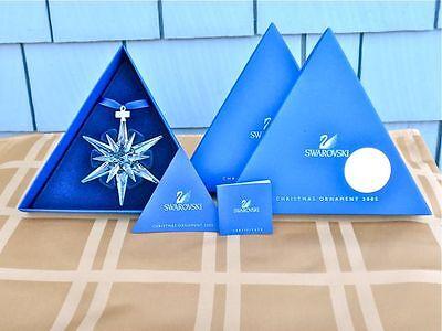 2005 SWAROVSKI CRYSTAL STAR ORNAMENT - NEW IN BOX