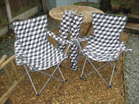 Folding Gelert Camping Chairs (pair)