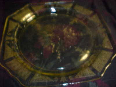 PRINCESS PATTERN,DEPRESSION GLASS, LITE YELLOW, 10IN DINNER PLATE, PLATES MINT