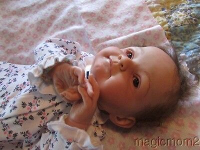 Mary Realistic Reborn Baby Doll 1/2 of the twins Marc & Mary