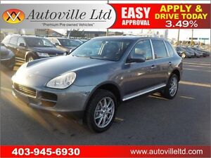 2004 PORSCHE CAYENNE S LEATHER ROOF AWD