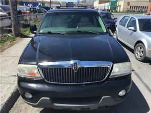 2004 LINCOLN AVIATOR  AWD  7 PASSAGERS