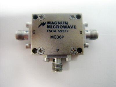 Magnum Microwave Mc36p Coaxial Rf Mixer Fscm 59277