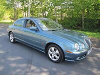 Jaguar S-Type 3.0 V6. Low Mileage. 2018 M.O.T. Lady Owned. A Lovely Car. Px Possible