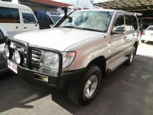 2003 Toyota Landcruiser HZJ105R GXL (4x4) Silver 5 Speed Manual 4x4 Wagon Coopers Plains Brisbane South West Preview