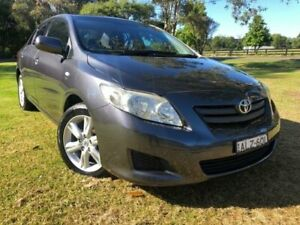 2007 Toyota Corolla ZRE152R Ascent Grey 4 Speed Automatic Sedan Tuggerah Wyong Area Preview