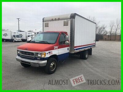 1999 Ford F-350 REPAIRABLE Box Truck # 390 E IL