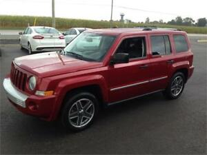 2009 Jeep Patriot Limited 4x4 Leather MINT ONLY 118KM