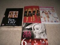 SEX AND THE CITY - THE MOVIE, A PAPERBACK AND TV SEASONS