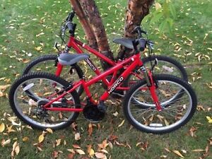 "$300 Twin Norco Ignitor Youth Mountain Bikes 24"" for $120"