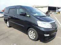 TOYOTA ALPHARD 3.0 MZG ULTIMATE SPEC SEPT 2007 7 LEATHER GRADE 4 IN UK 58,000