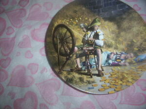 Rumpelstilzchen collectors plate,Barbie figurine collectibles.