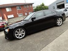 2012 Chrysler 300 MY12 SRT8 Black 5 Speed Automatic Sedan Sylvania Sutherland Area Preview