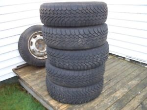 Nordic Winter tires, 185/65/14 two in good condition, two fair