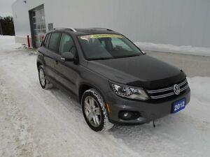 2012 Volkswagen Tiguan COMFORTLINE S (New Tires)