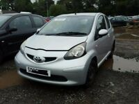 TOYOTA AYGO 1.4 D4D 2007 BREAKING FOR SPARES TEL 07814971951 HAVE FEW IN STOCK
