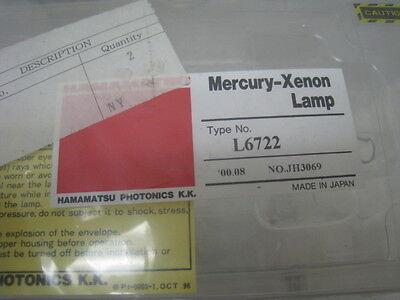 Hamamatsu Mercury Xenon lamp L6722