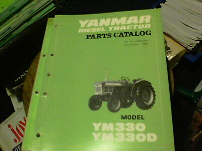 Yanmar Diesel Tractor Parts Catalog Model Ym 330 Ym 330d