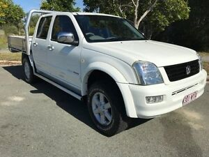 2005 Holden Rodeo RA MY05 LX White 5 Speed Auto Activematic Dual Cab Warana Maroochydore Area Preview