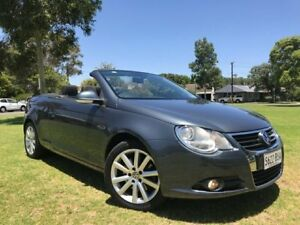 2007 Volkswagen EOS 1F MY08 TDI Grey 6 Speed Manual Convertible Somerton Park Holdfast Bay Preview