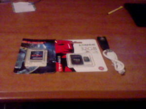 3DS Sky Card With 32 Gig Micro SD Card