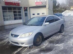 2005 Honda Civic Coupé Si-G 1.7 LITRES TOIT MAGS