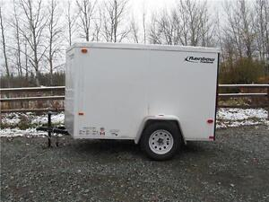 CANADIAN MADE 5'  x 8' CARGO WITH A V-NOSE Prince George British Columbia image 1