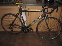 carrera tdf ltd carbon forks MASSIVE UPGRADES 2016 model sram apex 10 speed road bike cycle