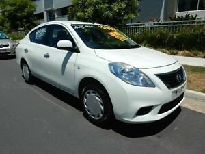 2013 Nissan Almera N17 ST White 5 Speed Manual Sedan Redcliffe Redcliffe Area Preview