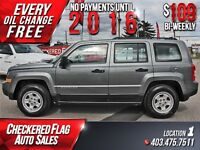 2011 Jeep Patriot Sport W/ Heated Leather Seats-LOW KMS-Cruise