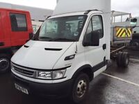 Iveco Daily 35C15 Chassis Cab Only,, Sale or Swap for Soft Top Landrover, Classic Car or WHY