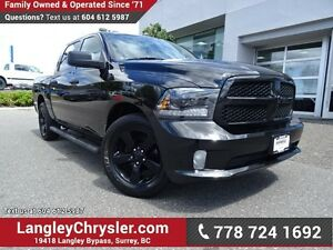 2015 RAM 1500 ST ACCIDENT FREE W/BLUETOOTH & BACKUP CAMERA